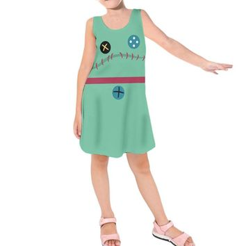 Kid's Scrump Lilo and Stitch Inspired Sleeveless Dress