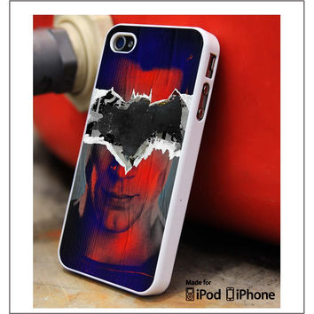 Batman And Superman Art iPhone 4s iPhone 5 iPhone 5s iPhone 6 case, Galaxy S3 Galaxy S4 Galaxy S5 Note 3 Note 4 case, iPod 4 5 Case