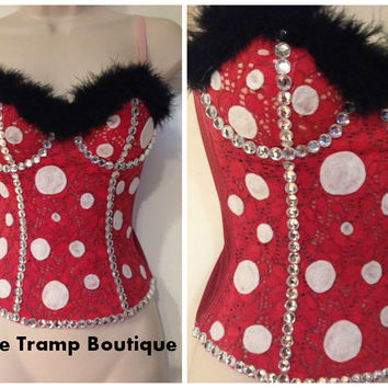 CLEARANCE Minnie Mouse Corset