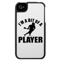 Cool Lacrosse design iPhone 4 Cases from Zazzle.com