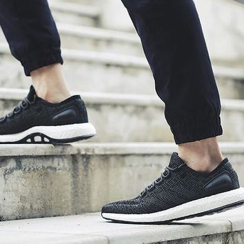 Adidas Pure Boost 2.0 Core Black/Grey (Tmall Original)