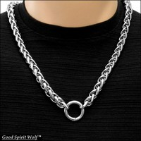 Bold Luxurious Viking Braid Chain For Necklace, Wallet Chain, Bag Chain, Etc.