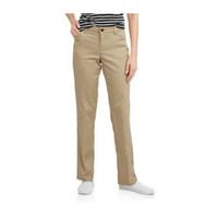 Genuine Dickies Women's Relaxed Straight Twill Pants, Desert Sand, 12R