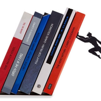 Superman Bookend  - Designed Bookend- Bookends- Book accessories