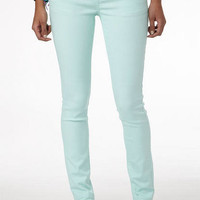 Britt Low-Rise Skinny Color Jean Sea Breeze