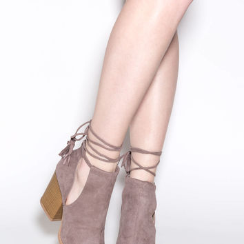 Trend Peek Cut-Out Booties