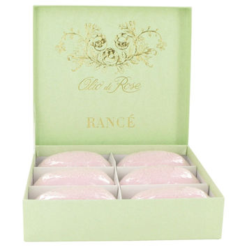Rance Soaps By Rance Olio Di Rose Soap Set Of 6 X 3.5 Oz