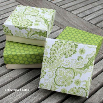 Spring Origami Jewelry Boxes Cardstock Gift by KatherinaKrafts
