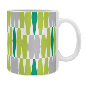 Heather Dutton Abacus Emerald Coffee Mug
