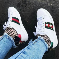 x1love: :Gucci:Trending Fashion Casual Sports Shoes