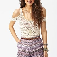 Capri Knit Shorts in What's New at Nasty Gal