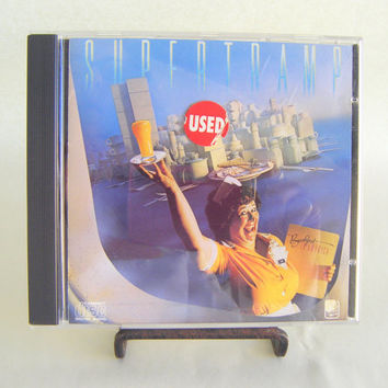 Supertramp Breakfast in America CD Vintage Used Music Classic Rock and Roll Superstar Stocking Stuffer