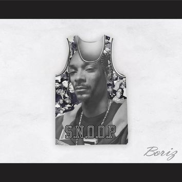 Snoop Dogg 12 Braids Legends of Hip Hop Basketball Jersey