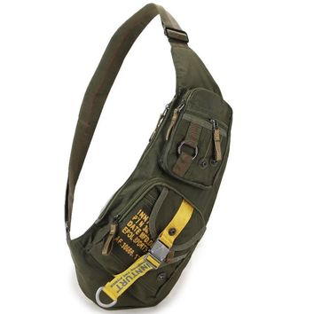 High Quality Waterproof Nylon Men Cross Body Messenger Shoulder Bag Riding Military Assault Male Sling Chest Day Back Pack