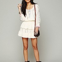 Free People  Victorian Embroidered Dress at Free People Clothing Boutique