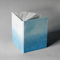Indigo Blue Ombre Journal