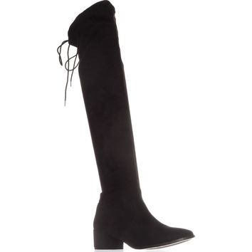 Chinese Laundry Mystical Pull On Over-The-Knee Boots, Black, 7 US / 37.5 EU