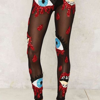 DI$COUNT UNIVER$E Bleeding Sequin Leggings