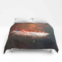 Icarus Comforters by HappyMelvin