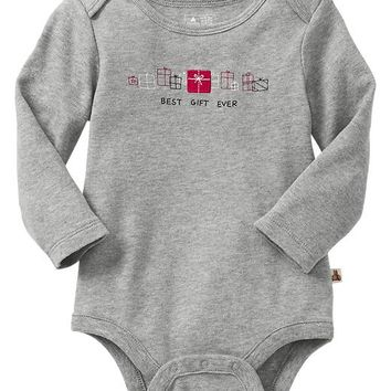 Gap Baby Factory Holiday Bodysuit