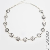 ASOS Curve | ASOS CURVE 90's Sun Choker Necklace at ASOS