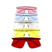 Womens retro blended sunglasses