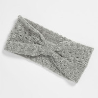 Carole Bow Pointelle Knit Headband | Nordstrom