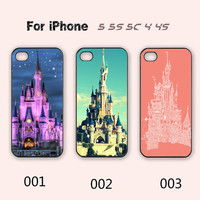 Disney,Castle,iPhone 5 case,iPhone 5C Case,iPhone 5S Case, Phone case,iPhone 4 Case, iPhone 4S Case