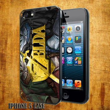 The-legend-of-zelda-Design On Hard Plastic Cover Case, IPhone 4,4S or IPhone 5 Case, Samsung Galaxy S2,S3 or S4 Case