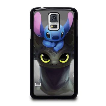 TOOTHLESS AND STITCH Samsung Galaxy S5 Case Cover