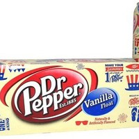 Dr Pepper Vanilla Float 12pack/ 12oz Cans