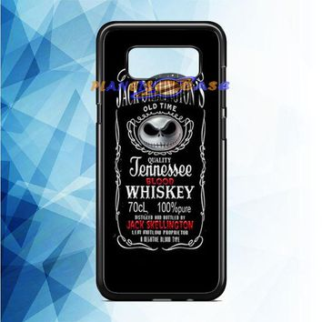 Jack Skellington Whiskey Daniels Samsung Galaxy Note 8 Case Planetscase.com