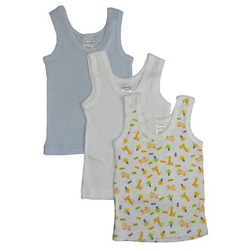 Bambini Boys Printed Tank Top Variety 3 Pack