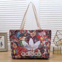 Adidas Women Fashion Leather Satchel Shoulder Bag Handbag Crossbody