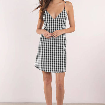Checkmate Gingham Shift Dress