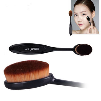 Oval Makeup Tool Cosmetic Brush