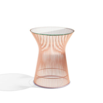 Platner Side Table in Rose Gold | Knoll