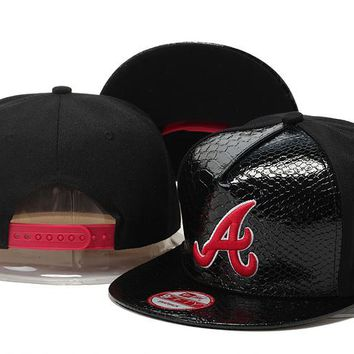 f5ae7178b35 Perfect MLB Atlanta Braves hats Women Men Embroidery Sports Sun