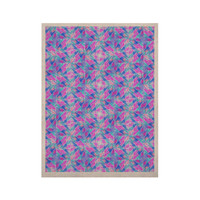 """Ebi Emporium """"Seeing Stars"""" Blue Pink KESS Naturals Canvas (Frame not Included)"""