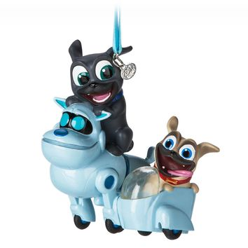 Licensed cool 2017 Puppy Dog Pals Sketchbook Christmas Ornament Disney Store Bingo Rolly ARF