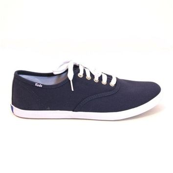 ONETOW Keds Champion Mens - Navy Slim Lace-up Sneaker