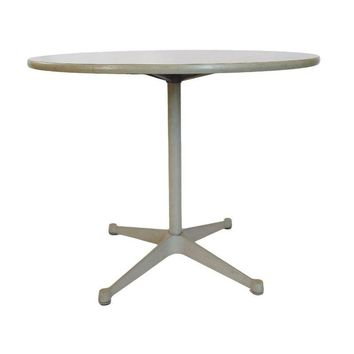Pre-owned Herman Miller Grey Eames Dining Table