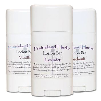 NEW! Prairieland Herbs Lotion Bar