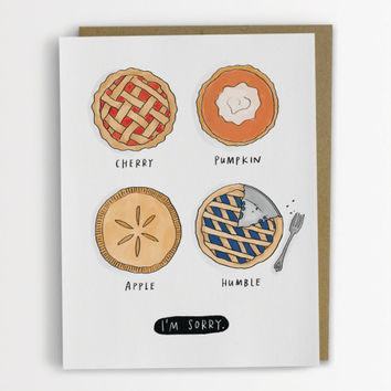 Humble Pie Card