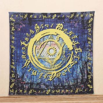 Wall Tapestries Indian Tapestry  Yoga Mat Blanket
