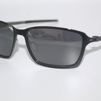 Oakley Tincan Sunglasses OO4082-03 Polished Black Frame W/ Black Iridium Lens