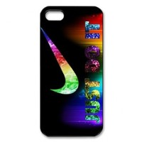 Vcase-031 Special Customized JUST 3D Hard DO IT Printed Case Protector for iPhone 5