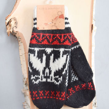 Nordic Knit Mittens