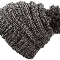 Dakine Women's Scrunch Beanie, Black Mix, One Size