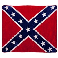Rebel Flag Soft Blanket
